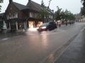Wateroverlast in centrum Groesbeek
